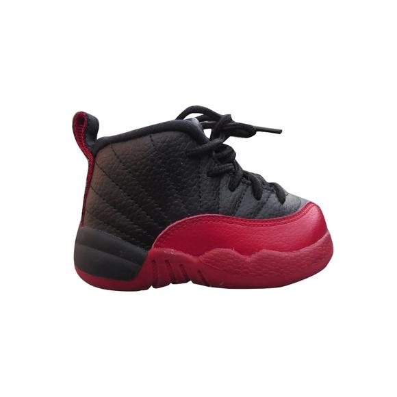 Jordan Retro 2 Baby Size 5c Red Black